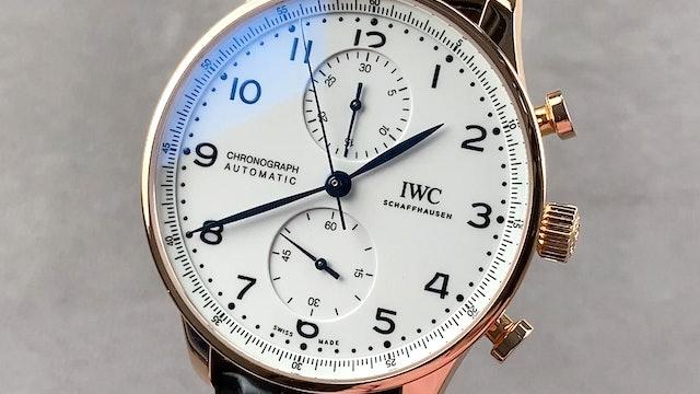 "IWC Portugieser Chronograph Edition ""150 Years"" IW3716-03"