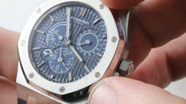 Audemars Piguet Royal Oak Dual Time 3...
