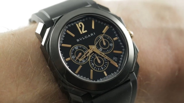 Bulgari Octo Chronograph (Zenith El Primero) 102630 Bulgari Watch Review