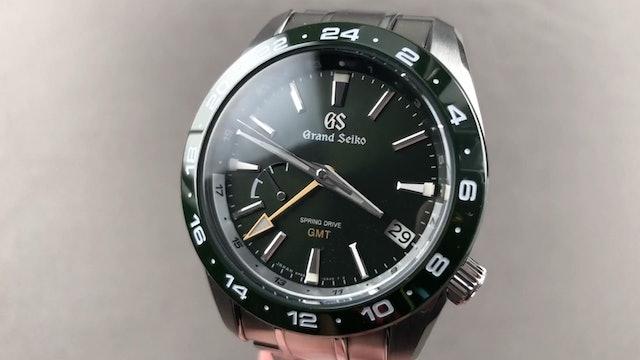 2020 Grand Seiko Spring Drive GMT SBGE257 Green Ceramic Grand Seiko Watch Review