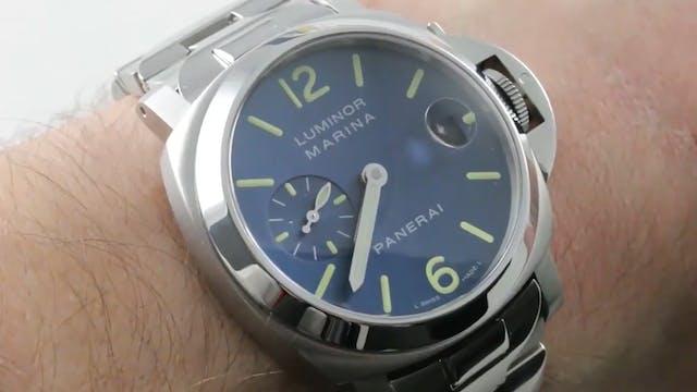 Panerai Luminor Marina (PAM 120) Review