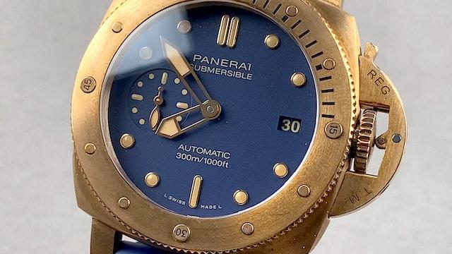 Panerai Submersible Bronzo PAM 1074