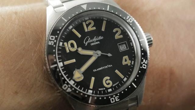 2019 Glashutte Original Seaq 39.5mm (1-39-11-06-80-70) Dive Watch Review