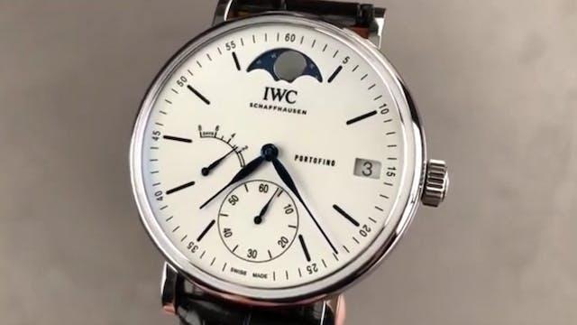 IWC Portofino Hand Wound Moon Phase E...