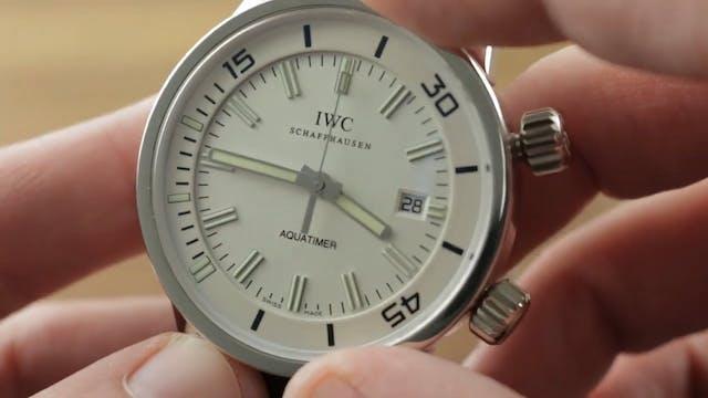 "IWC ""Vintage"" Aquatimer Platinum 3231-05"