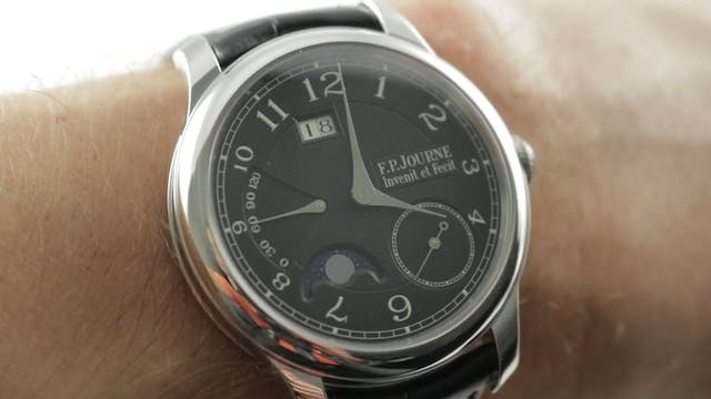F.P. Journe Octa Lune Black Label Review
