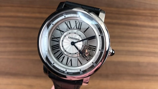 Cartier Rotonde De Cartier Astrotourbillon W1556204 Cartier Watch Review