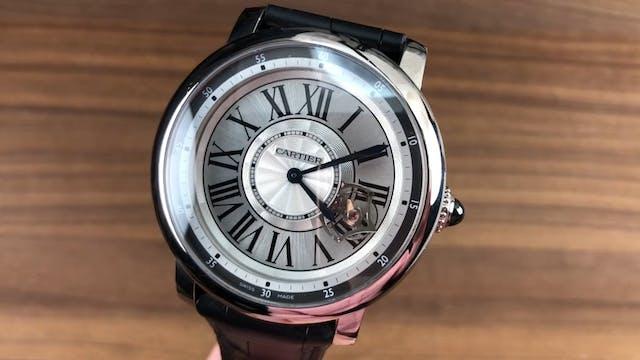 Cartier Rotonde De Cartier Astrotourb...