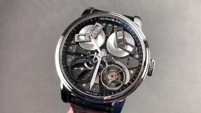 Arnold & Son Tb88 True Beat Seconds 1Tbas.B01A.C113S Arnold & Son Watch Review