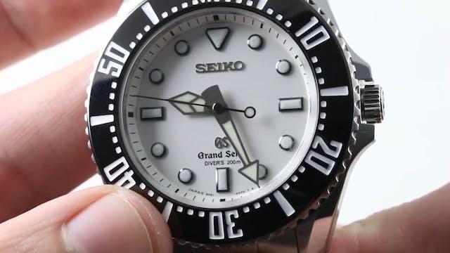 Grand Seiko Diver 9F61 42.7mm Sbgx115...