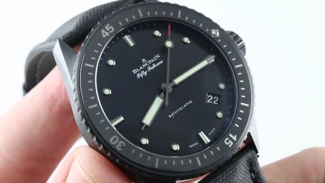 Blancpain Fifty Fathoms Bathyscaphe B...