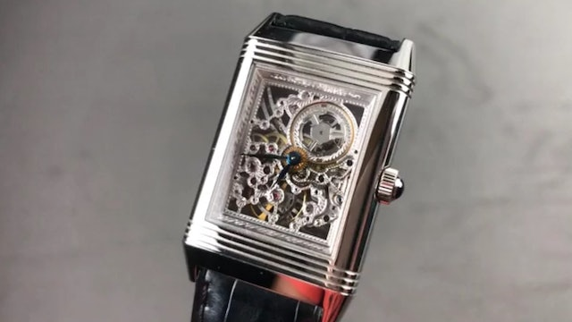 Jaeger-Lecoultre Reverso Number One Skeleton Engraved Q2166401 Review