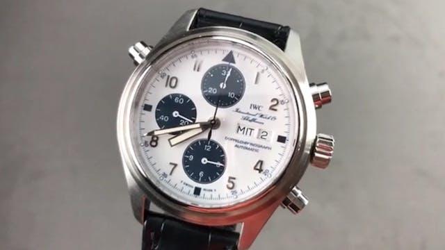 IWC Pilots Watch Double Chronograph B...