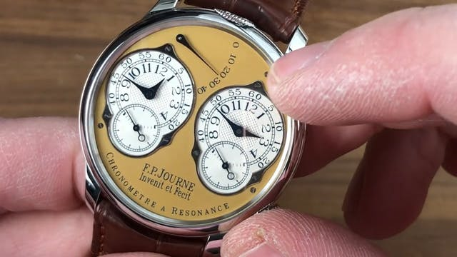 F.P. Journe Chronometre A Resonance S...