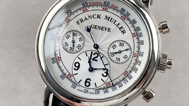 Franck Muller Classic Round Double Fa...