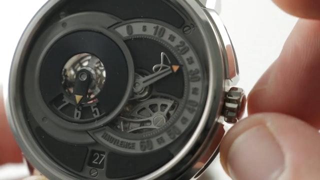Hautlence Hlq08 Jump Hour Retrograde Mte002014 Hautlence Watch Review