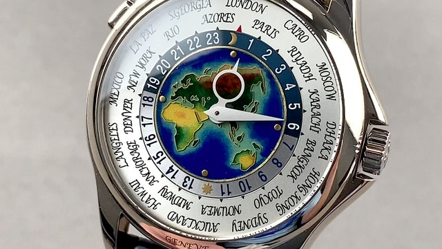 Patek Philippe Complications World Time 5131G-010