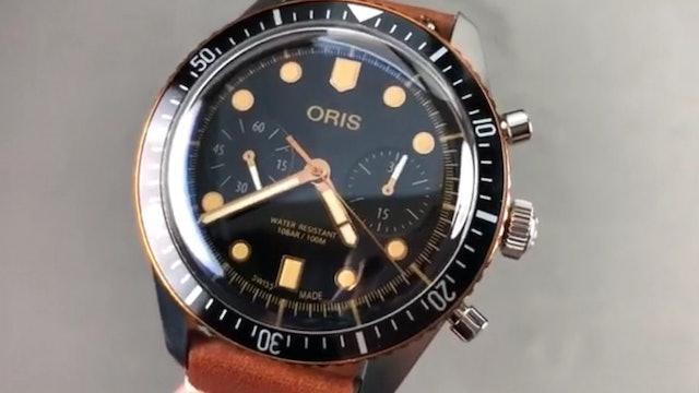 Oris Divers Sixty Five Chronograph (Dive Watch) 01 771 7744 4354 07 5 21 45