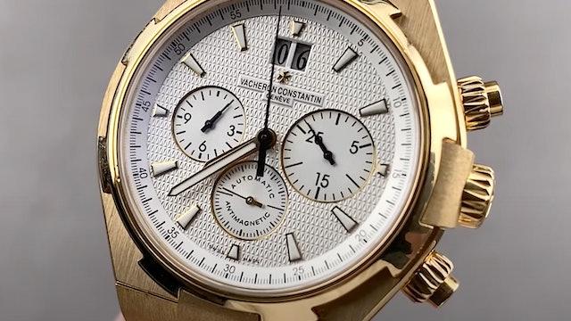 Vacheron Constantin Overseas Chronograph 49150/B015-9215