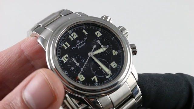 Blancpain Leman Flyback Chronograph 2...