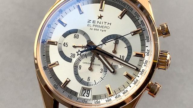 Zenith El Primero Chronograph 36'000 VpH 18.2040.400:02.C494