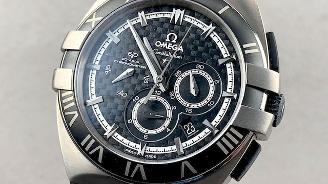 Omega Constellation Double Eagle Chronograph Mission Hills World Cup Golf