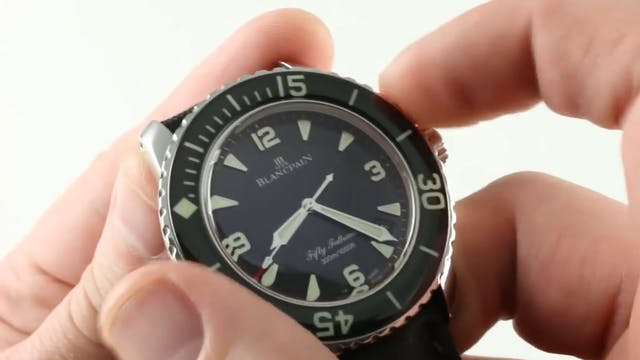 Blancpain Fifty Fathoms 5015 1130 52 ...