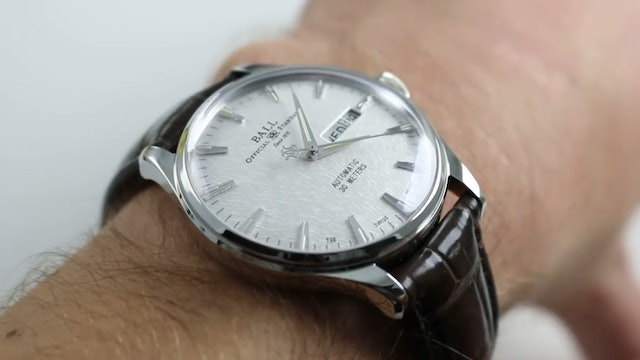 Ball Watch Company Trainmaster Eternity Nm2080D Lj Sl Watch Review