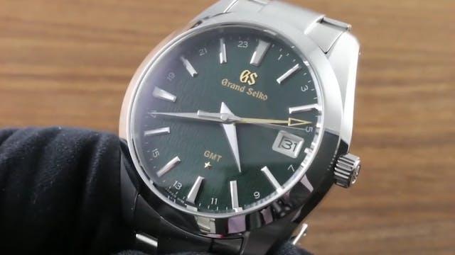 Grand Seiko GMT 9F Anniversary SBGN00...