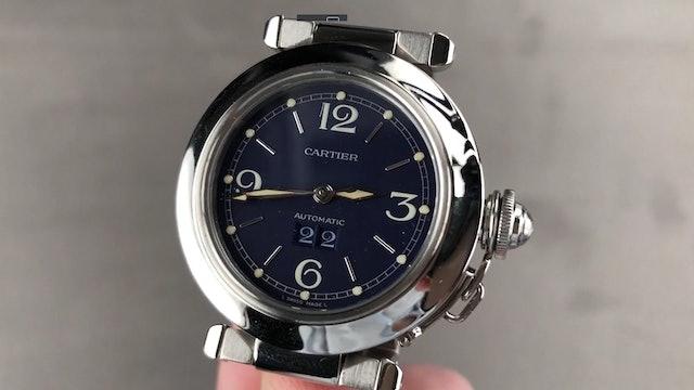 Cartier Pasha C (Blue Dial by Gerald Genta) W31047M7 Review