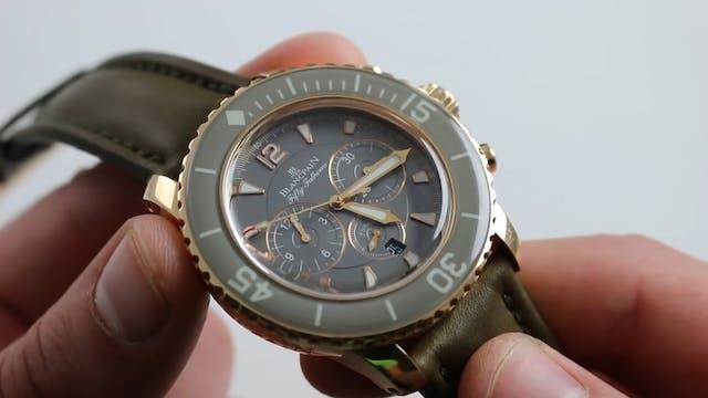Blancpain Fifty Fathoms Chronograph F...