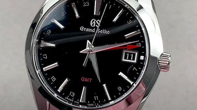 Grand Seiko Heritage Collection 9F Quartz GMT SBGN013