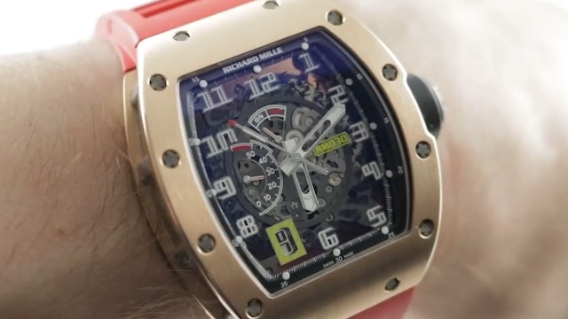 Richard Mille RM 030 (RM030 AN RG) Review