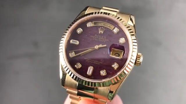 "Rolex Day-Date 36mm ""Rubellite Dial"" ..."