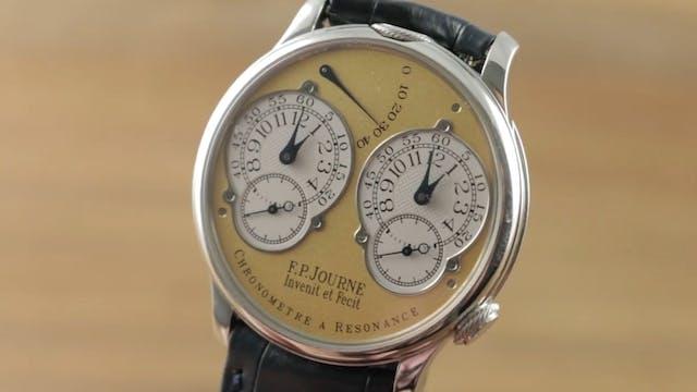 F.P. Journe Chronometre Resonance 38m...