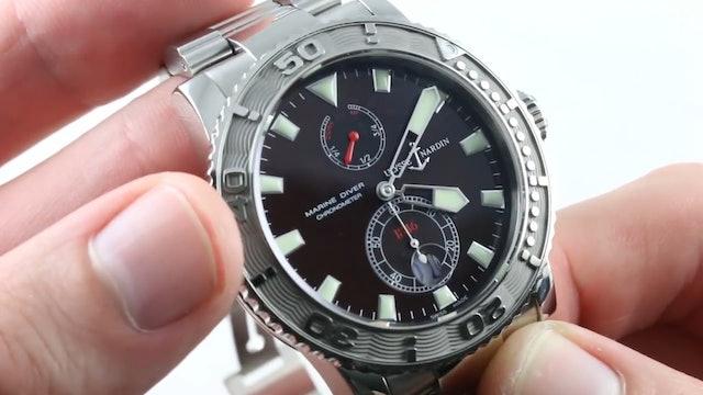 Ulysse Nardin Maxi Marine Diver Chronometer 263-33-7/95 Review
