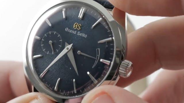 Grand Seiko SBGK005 Elegance Blue Iwa...