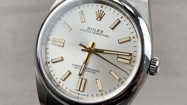 Rolex Oyster Perpetual 41 124300