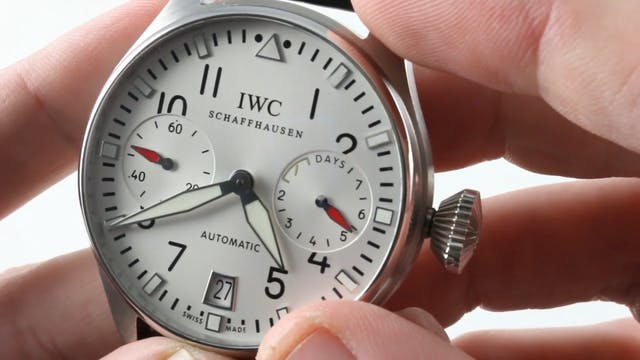 IWC Big Pilots Watch Dfb Deutscher Fu...