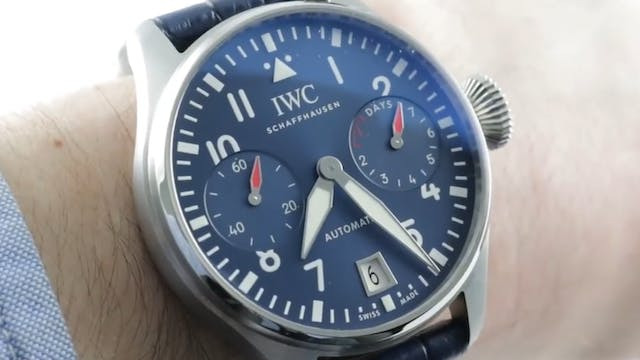 IWC Big Pilots Watch Edition Boutique...