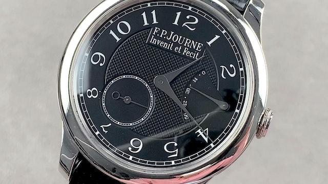 F.P. Journe Chronometre Souverain Black Label