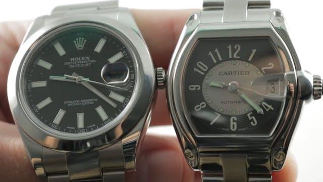Rolex Datejust II 116300 vs Cartier R...
