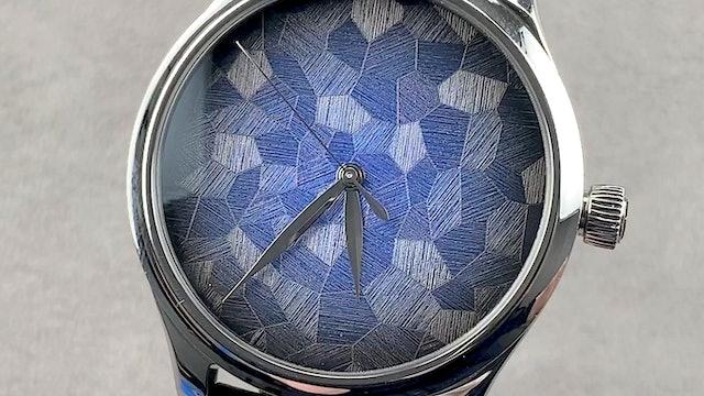 H. Moser & Cie Endeavour Centre Seconds Limited Edition Mosaic Blue Fume