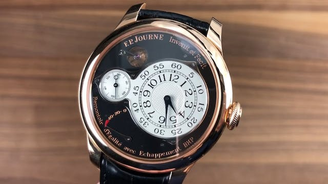 F.P. Journe Chronometre Optimum Rose ...