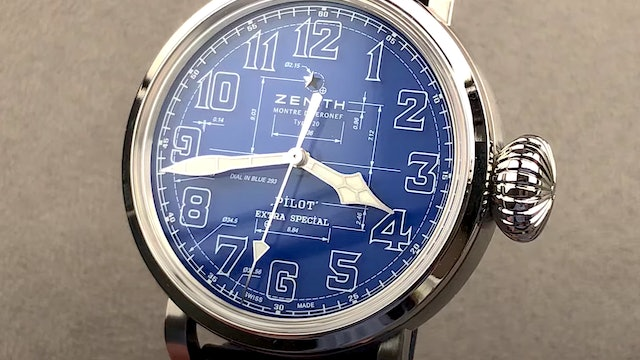 Zenith Pilot Extra Special Type 20 Blueprint Limited Edition 03.2435.679:51.I012