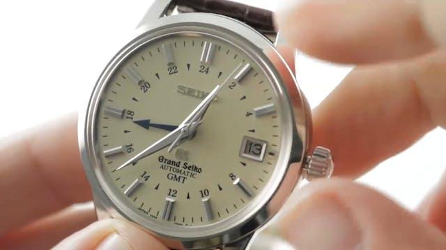 Grand Seiko GMT (Ivory Dial) SBGM021 ...