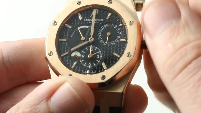 Audemars Piguet Royal Oak Dual Time 2...