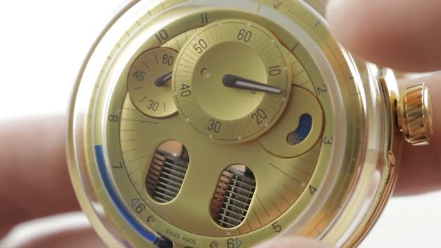 HYT H0 Gold Blue (Hydro Mechanical) 0...