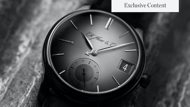 The Past and Future of H. Moser & Cie...