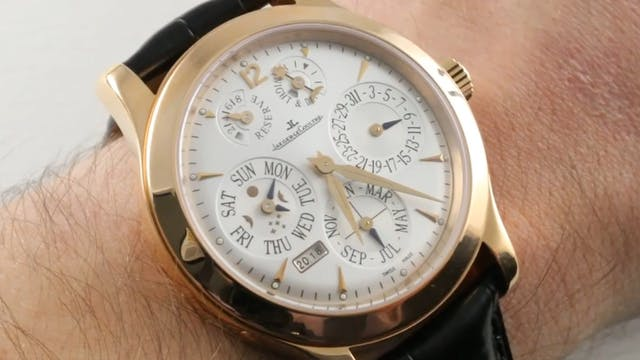 Jaeger Lecoultre Master Eight Day Per...